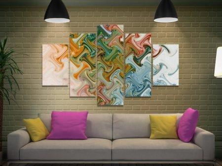 Perception of Peace 5-Piece Canvas Art Set