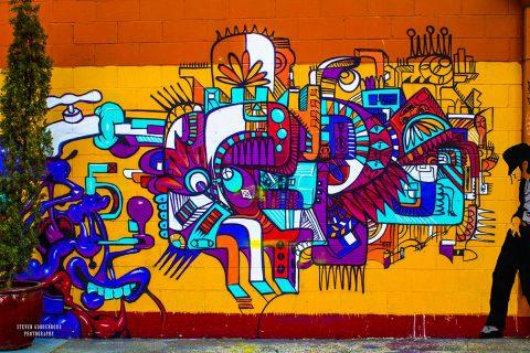 Smooth Criminal Graffiti Canvas Artwork Australia