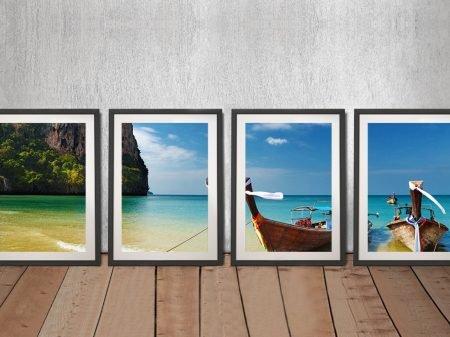 Thailand Paradise 4-Piece Canvas Artwork