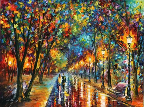 When Dreams Come True Leonid Afremov Contemporary Art Australia