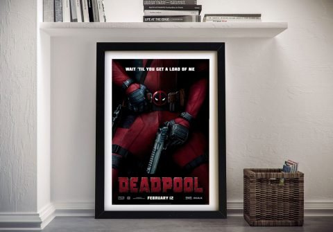 Buy a Deadpool Movie Poster Canvas Print