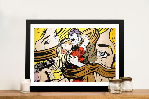 Buy D*Face's Wasted Youth Framed Artwork