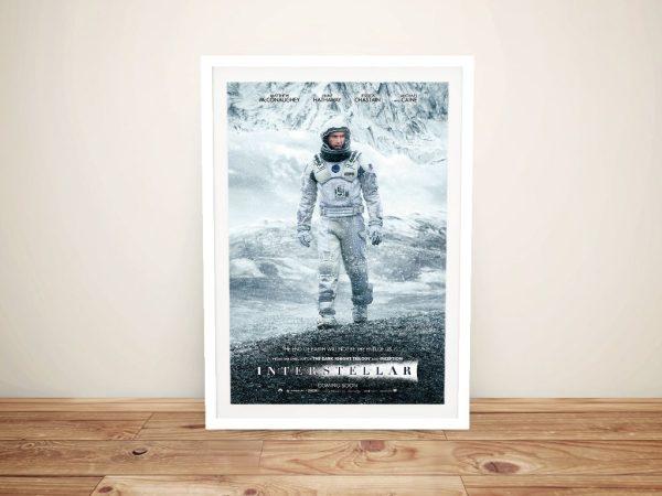 Interstellar Poster Movie Memorabilia for Sale