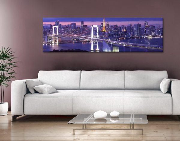 Buy Affordable Tokyo Skyline Wall Art Online