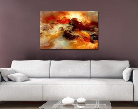 Heavens Inferno Wall Art Great Gift Ideas AU