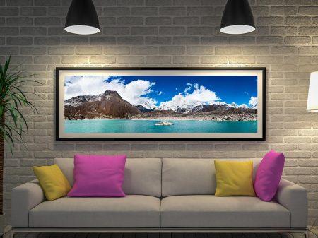Buy a Himalayan Panorama Canvas Print
