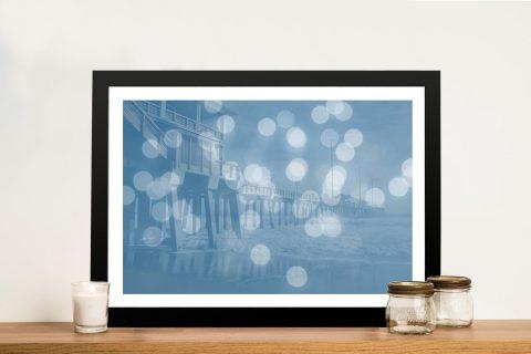 Framed Print of Jennettes Pier Cheap Online