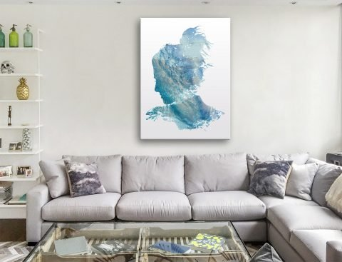 Ocean Dreaming Abstract Canvas