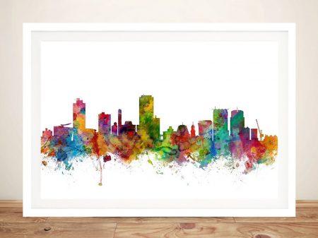 Wellington Skyline Framed Art