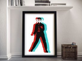 Elvis Presley Framed Wall Art Picture