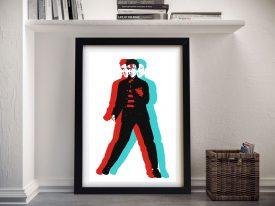 Elvis Presley Framed Wall Art Picture