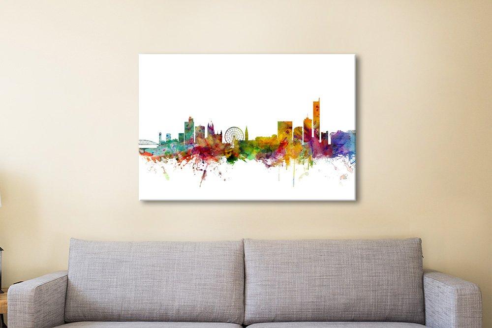Michael Tompsett Colourful Skylines Art AU