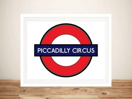 Buy a Piccadilly Circus Underground Art Print
