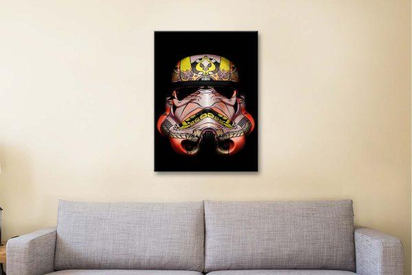 Buy Stormtrooper Canvas Artwork Sydney