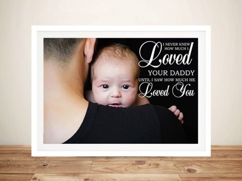 Personalised Photo Wall Art Gifts