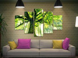 Forrest 5 Piece Split Canvas Print