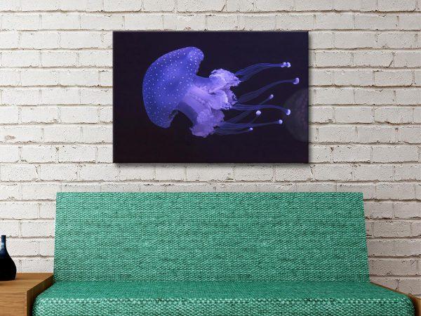 Ready to Hang Jellyfish Art Home Decor Ideas