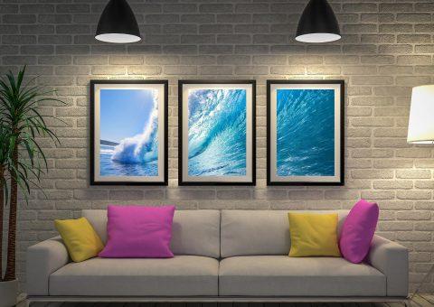 Buy Surf Haze Triptych Art Great Gift Ideas AU