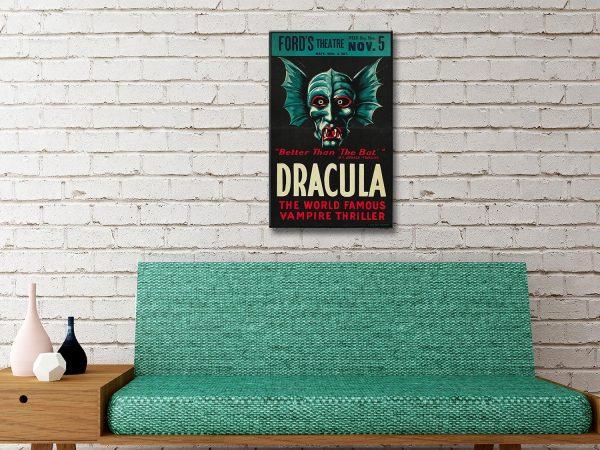 Dracula Canvas Artwork