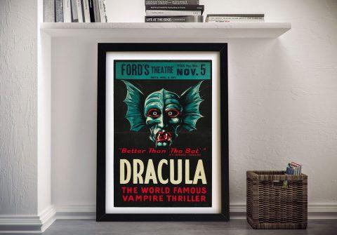 Dracula Framed Movie Poster Wall Art