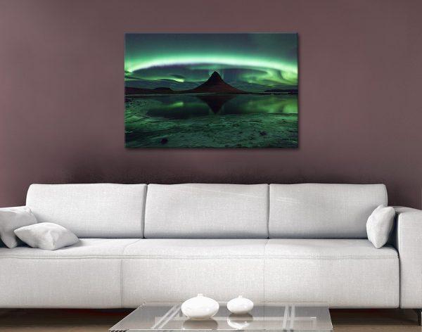 Enchanting Aurora Borealis Canvas Print