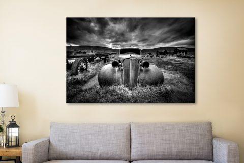 Buy Affordable Black & White Car Wall Art AU