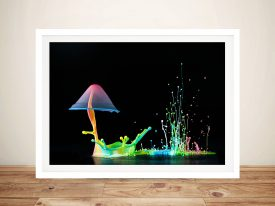 Abstract Framed Wall Art Australia