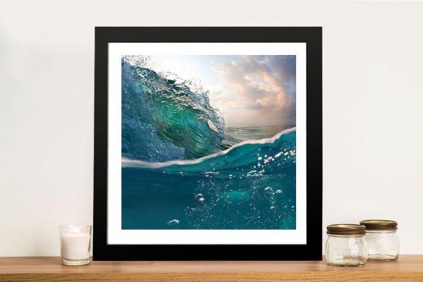 Buy a Breaking Waves No.6 Seascape Print