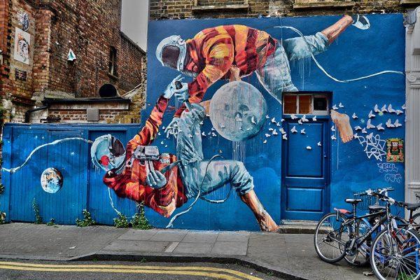 Street Art Reproduction Canvas Artwork