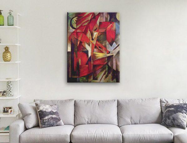 Buy Affordable Franz Marc Canvas Prints AU