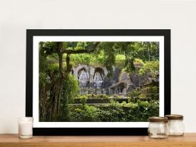 Temple Bali Framed Wall Art
