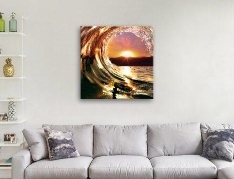 Surf Square Canvas Art Home Decor Ideas AU