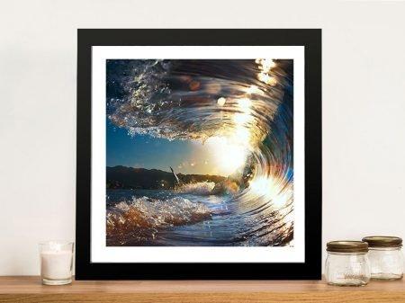 Buy a Breaking Waves No.2 Seascape Print