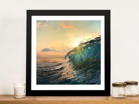 Buy Breaking Waves 7 Framed Seascape Art