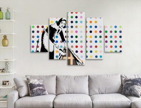 Keeping it Spotless Split Panel Art Gift Ideas AU