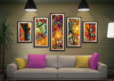 Buy Colourful Night Affordable Afremov Art