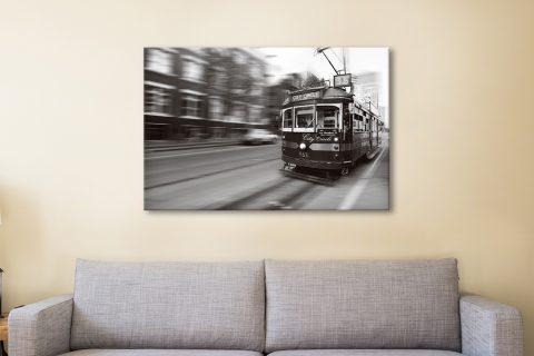 Buy Black & White Flinders Street Artwork