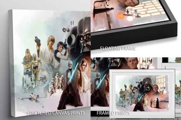 Star Wars Original Cast Print