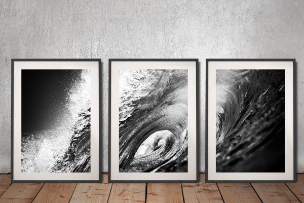 Buy The Hook Triptych Surf Art Gift Ideas AU