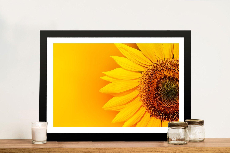 Sunflower flower Framed Wall Art