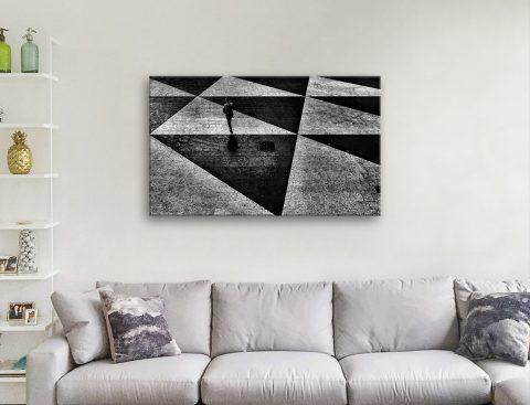 Monochrome Abstract Art Cheap Online