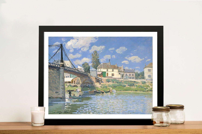 Framed Classic Alfred Sisley Canvas Prints
