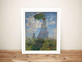 Woman With a Parasol Classic Monet Prints