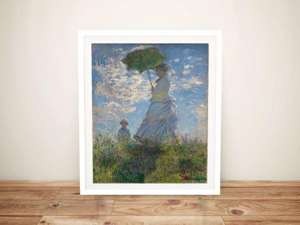 Woman With a Parasol Classic Monet Prints