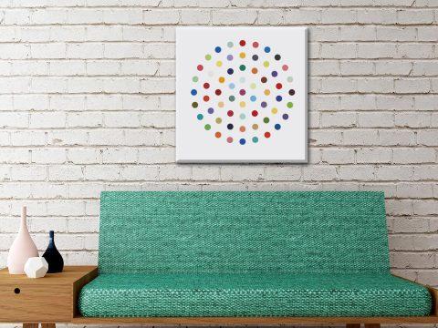 Cineole by Damien Hirst Pop Art on Canvas Print Australia