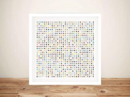 Damien Hirst Dantrolene Framed Wall Art