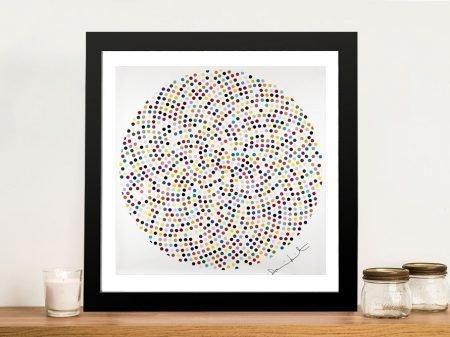 Damien Hirst Valium Framed Wall Art