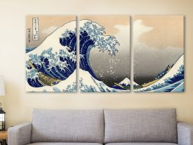 The Great Wave off Kanagawa custom art print online
