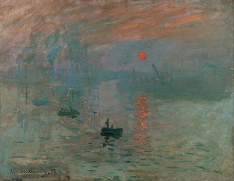 Monet Impression Sunrise Artwork Australia
