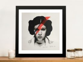 Rebel Rebel By Framed Wall Art Picture